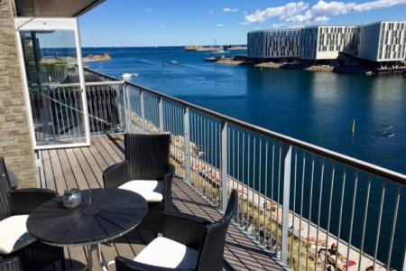 Wonderfull apartment on the waterfront - no residense requirement